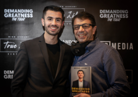Mike Ashabi Is Filling Up Venues Around The Country With His Tour For His Book Demanding Greatness