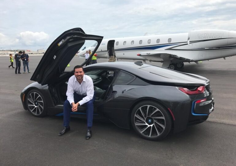 Andres Arboleda, Owner of Privé Jets, Is Transforming The Private Aviation Charter World