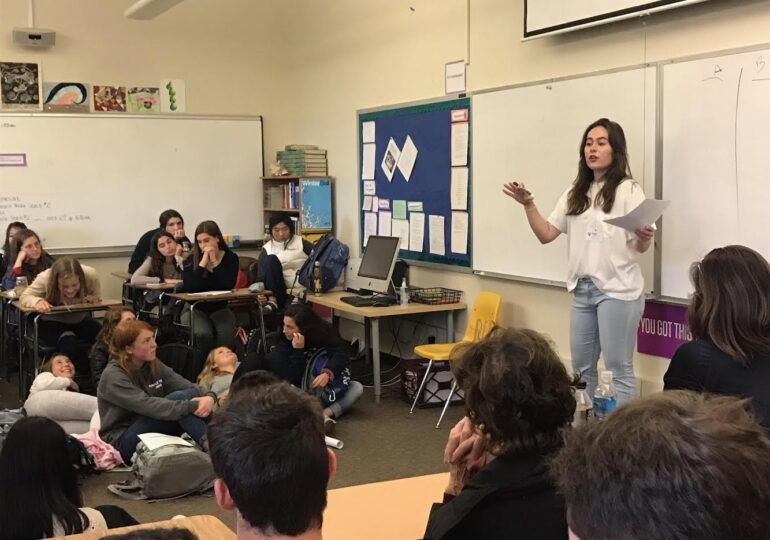 """""""2x TED Talk Speaker, Megan Gallagher, Creates Mental Health Workbook, """"How To Thrive In The Virtual Classroom"""", For Teenagers During Covid-19"""""""
